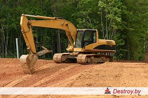 подготовка участка под сроительство