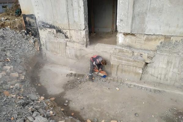алмазная резка в Минске на объекте