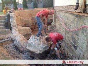 демонтаж стен в Дестрой