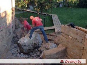 демонтаж частного дома в Дестрой