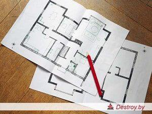 перепланировка в квартире