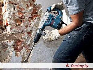 снос стен в доме