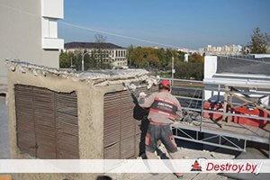 демонтаж конструкций из металла на объекте