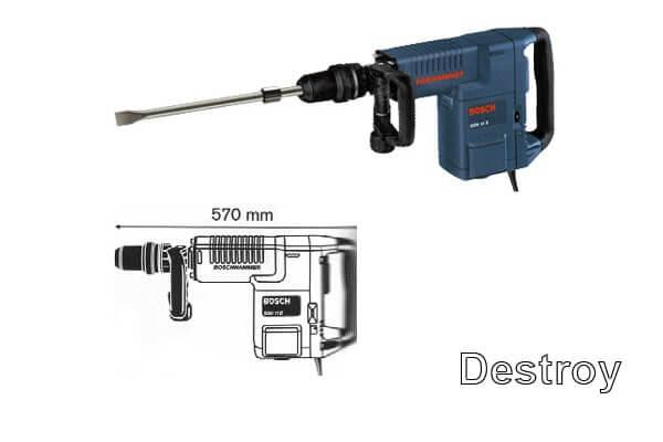 Отбойный молоток Bosch модель GSH 11 E