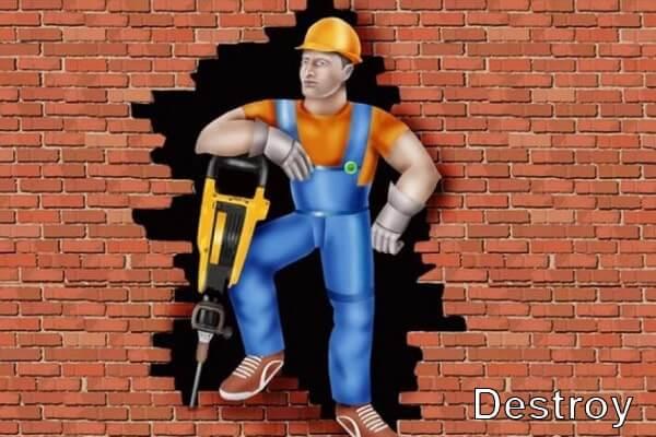 специалист по демонтажу