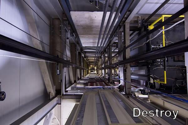 оборудование лифтовых шахт
