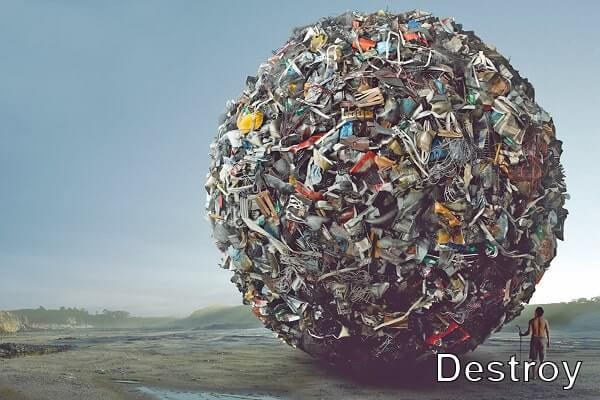 проблемы мусорных свалок