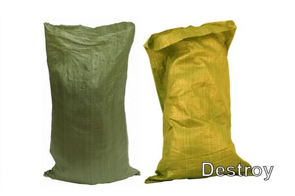 советы по демонтажу подготовьте мешки для мусора