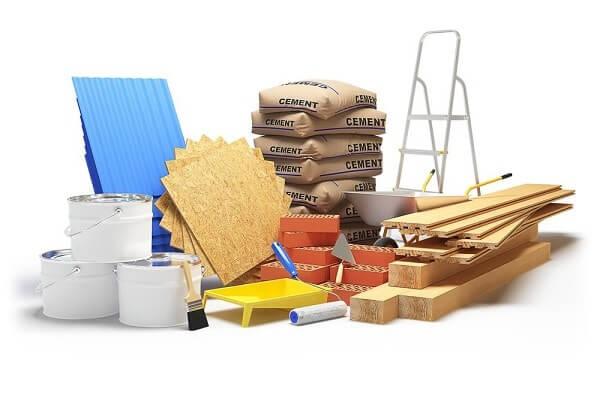 строительные материалы для ремонта квартиры